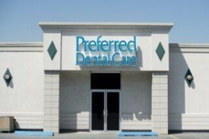 Front photo shot of Preferred Dental Care office building.
